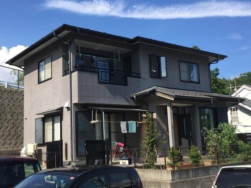 外壁塗装 屋根塗装 コーキング工事 山梨県北杜市 S様邸