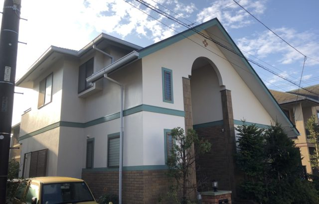 山梨 外壁塗装 屋根カバー