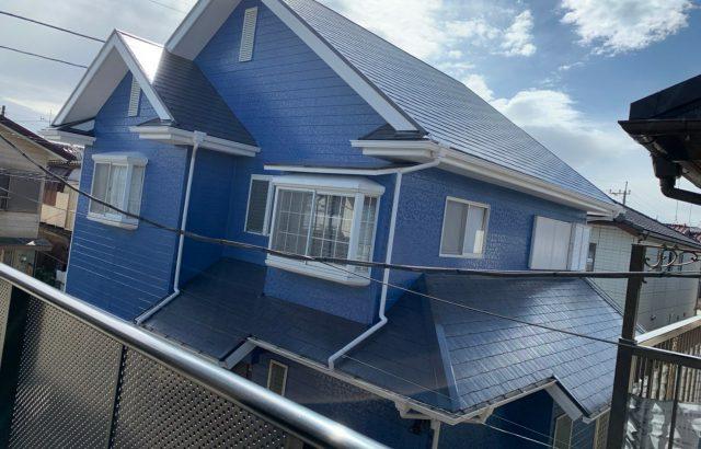 山梨県中巨摩郡 外壁塗装 屋根塗装 コーキング工事
