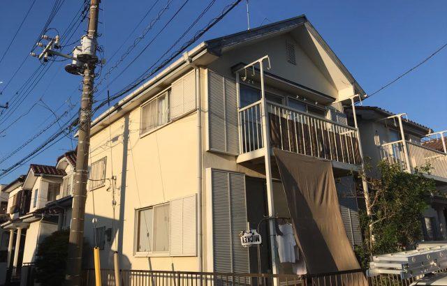 山梨県南アルプス市 屋根塗装 外壁塗装 付帯部塗装 雨樋交換 棟板金交換