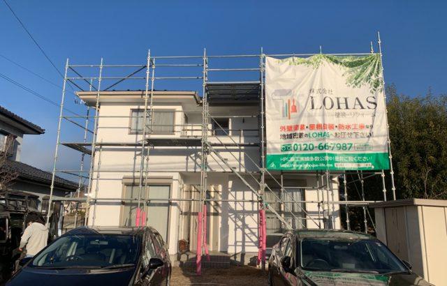 韮崎市A様邸、外壁・屋根塗装 完了