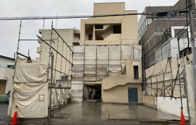 甲府市マンション 外壁塗装・防水工事  解体工事完了