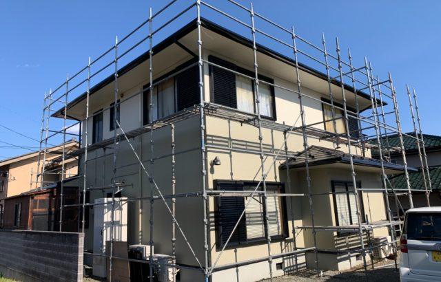 甲斐市A様邸、外壁・屋根塗装 完成