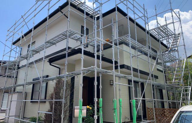 山梨県富士吉田市H様邸、外壁・屋根塗装完工