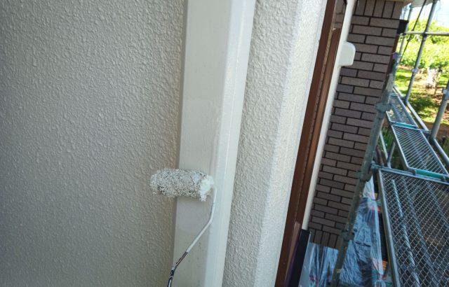 韮崎市S様邸、外壁塗装 付帯部塗装